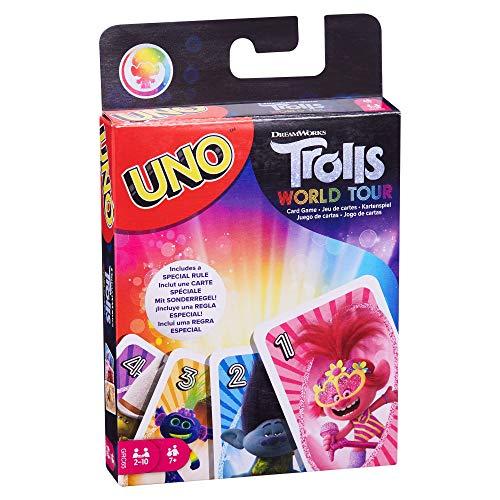 Troll World Tour UNO Game £3.50 (Prime) + £4.49 (non Prime) at Amazon
