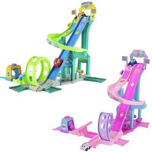 Chad Valley My 1st Vehicles Mega Jump Set in Pink, or Green £20 click & collect @ Argos