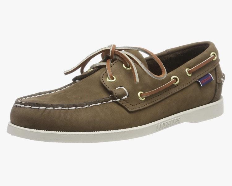 Sebago Men's Docksides Portland Nubuck Boat Shoes - brown - size 5.5 - £20.61 @ Amazon