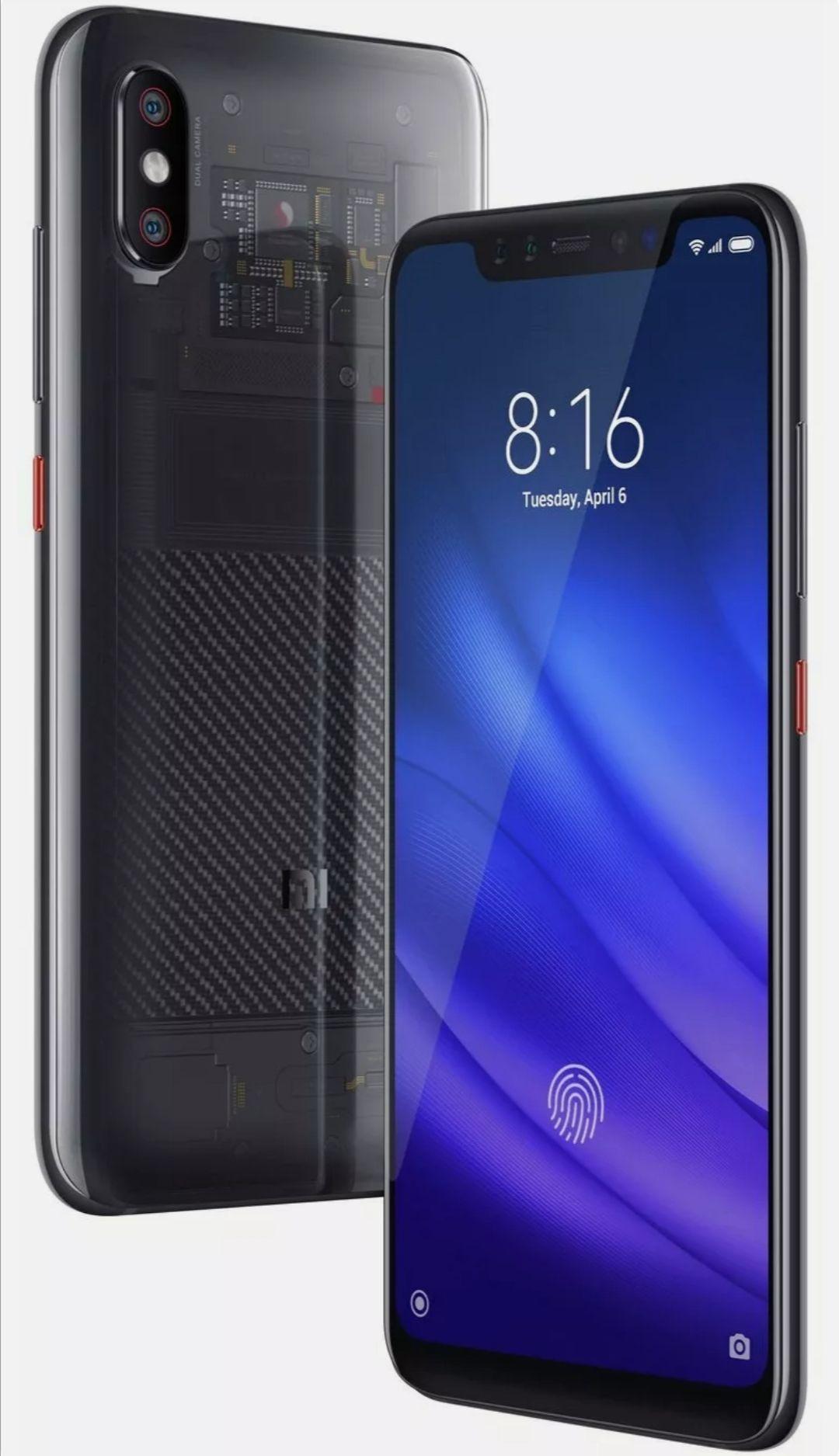 SIM Free Xiaomi Mi 8 Pro 6.26 Inch 128GB 20MP 4G Android Mobile Phone - Black Refurbished - £149.19 @ Argos / Ebay