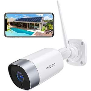 Security Camera Outdoor, Mibao 1080P WiFi Camera, £26.39 Sold by AERWA and Fulfilled by Amazon