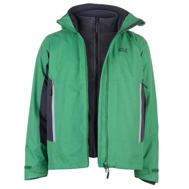 Jack Wolfskin north border jacket 3 in 1 mens at USC for £115