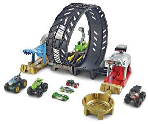 Hot Wheels Monster Truck Loop Playset - £11.50 @ Argos (free click and collect)