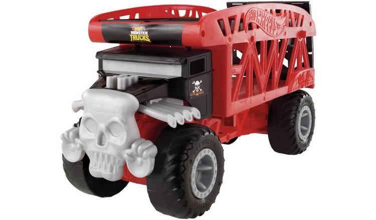Hot Wheels Monster Truck Hauler (Size H13.3, W38.1, D22.8cm) - £15 Free Click & Collect @ Argos