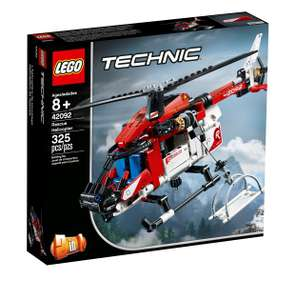 LEGO Technic Rescue Toy Helicopter and Plane Playset- 42092 free click and collect/£3.95 delivery at Argos