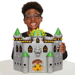 Nintendo Bowsers Castle Playset at Smyths