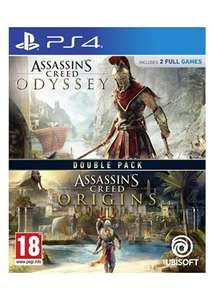 Assassin's Creed Origins + Odyssey Double Pack [PS4] £21.29 Delivered @ Base
