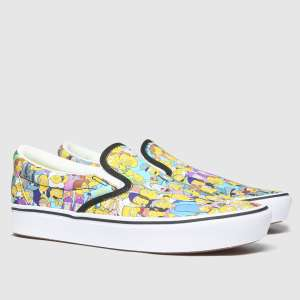 The Simpsons X Vans Comfycush Slip-On £44.99 Free Delivery at Schuh