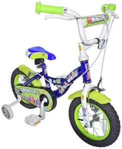 Click n Go Little Monsters 12 inch Wheel Size Kids Bike £25 + free click & collect @ Argos