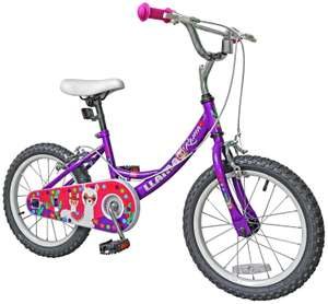 Llama 16 inch Wheel Size Kids Bike £30 free click and collect at Argos