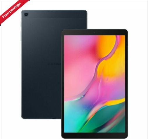 """SAMSUNG Galaxy Tab A 10.1"""" Tablet (2019) - 32 GB Black - £159 at Currys ebay"""