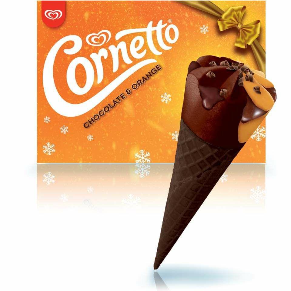Wall's Cornetto Chocolate Orange 4 Packs are £2 @ Asda