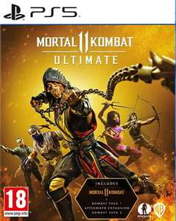 Mortal Kombat 11 Ultimate (PS5) - £34.99 @ Amazon