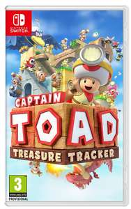 Captain Toad Treasure Tracker for Nintendo Switch - £28 @ Currys PC World