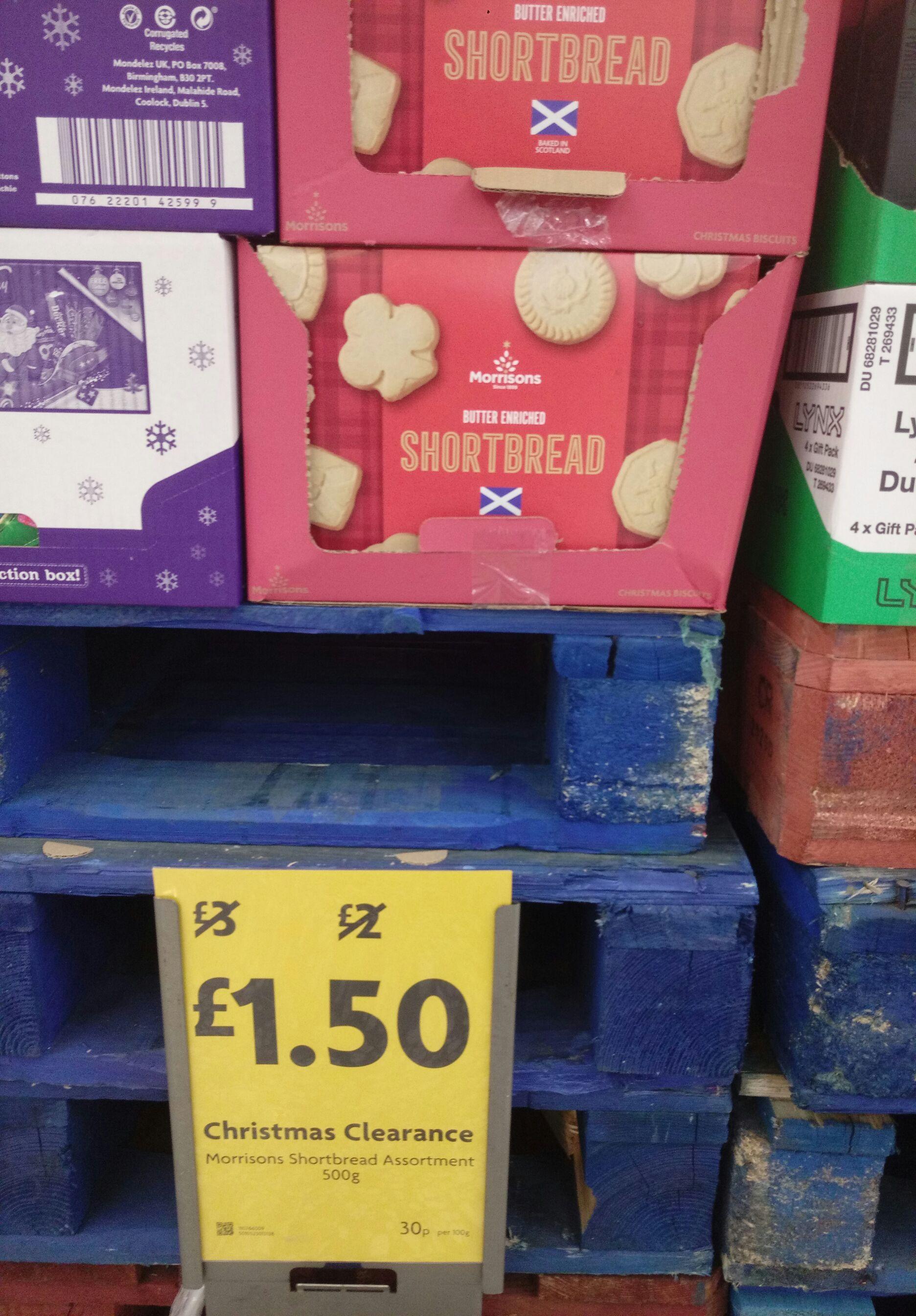 Morrisons shortbread - £1.50 per Box Instore @ Morrisons (Cheltenham)