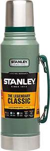 Stanley Legendary Classic 1.0L Hammertone Green 18/8 Stainless Steel Double-Wall Vacuum Insulation Water Bottle - £28.67 @ Amazon
