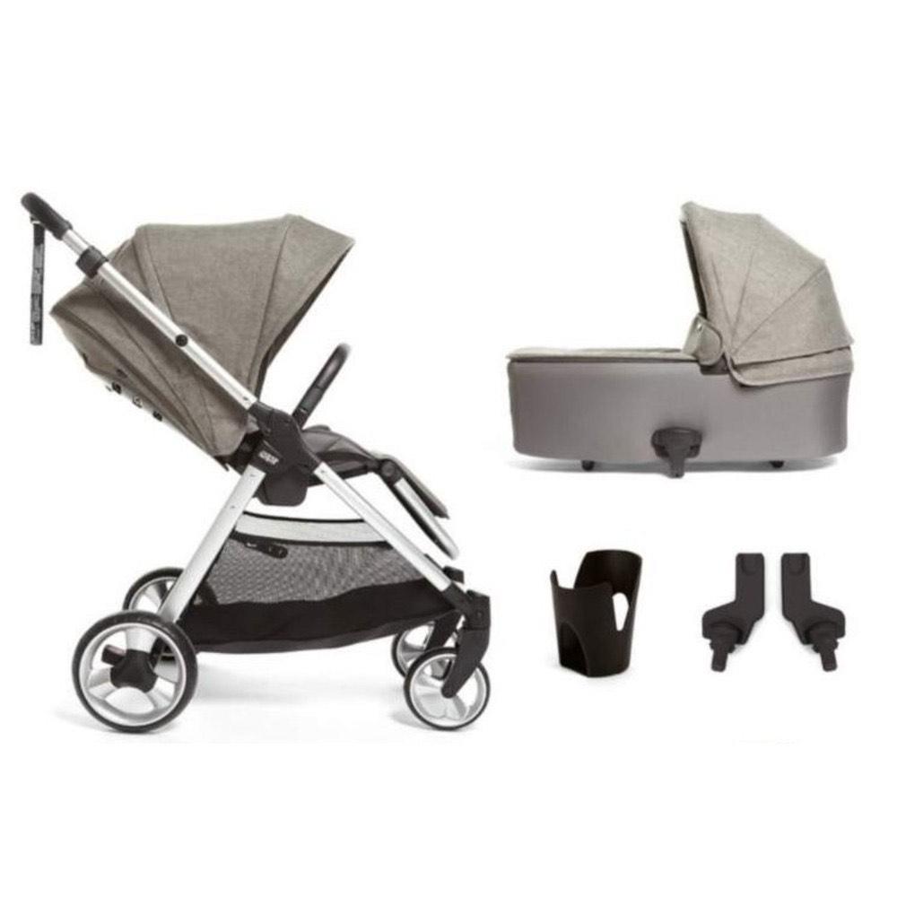 Mamas & Papas Flip XT2 4 Piece Bundle - Pushchair & Carrycot (Grey Melange) £299.95 @ PreciousLittleOne