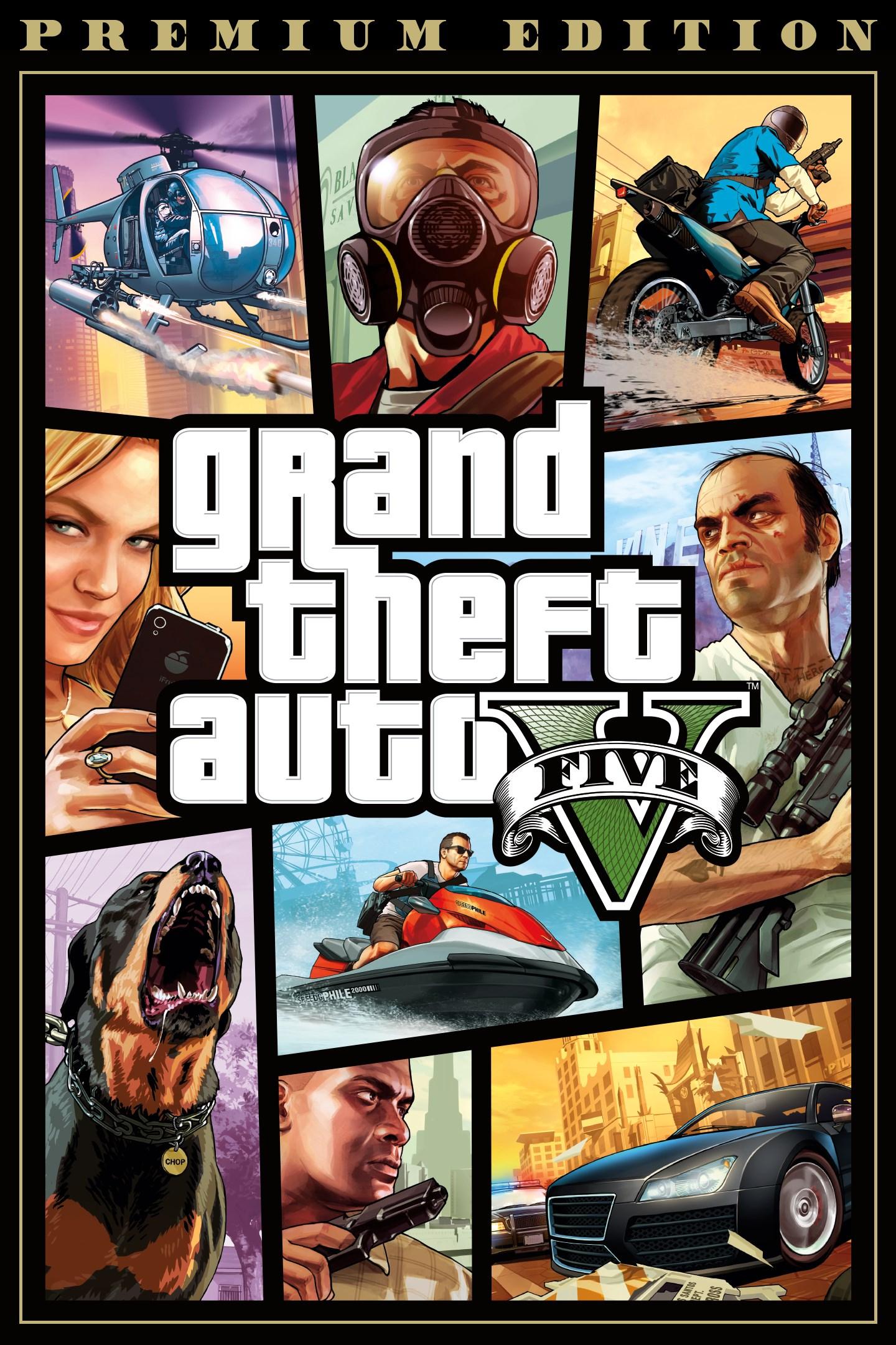 Grand Theft Auto v Premium Online Edition £12.49 Microsoft Store for Xbox One