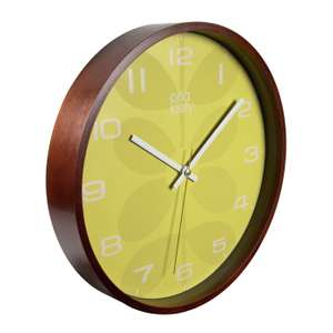 Orla Kiely Wooden Wall Clock £15 free click and collect at Argos