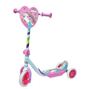Chad Valley Unicorn Tri Scooter - £10 Using Click & Collect @ Argos