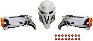 Nerf Overwatch Reaper Wight Collector's Edition Cosplay Pack (two blasters and a Reaper mask) for £26.39 delivered with code @ eBay / toydip