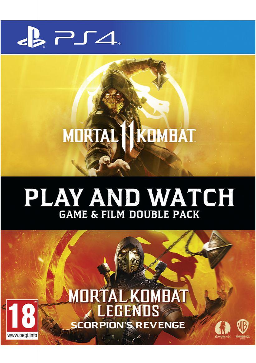 Mortal Kombat 11 Franchise Pack - Game & Film Double Pack on PlayStation 4 - £14.99 Delivered @ Simply Games