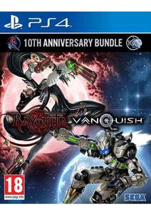 Bayonetta & Vanquish 10th Anniversary Bundle (PS4) £11.99 Delivered @ Simply Games