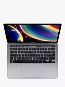 """Apple MacBook Pro 13"""" 2020 Touch Bar, Intel Core i5, 8GB RAM, 256GB SSD, Space Grey includes 3 year warranty £1139 at John Lewis & Partners"""