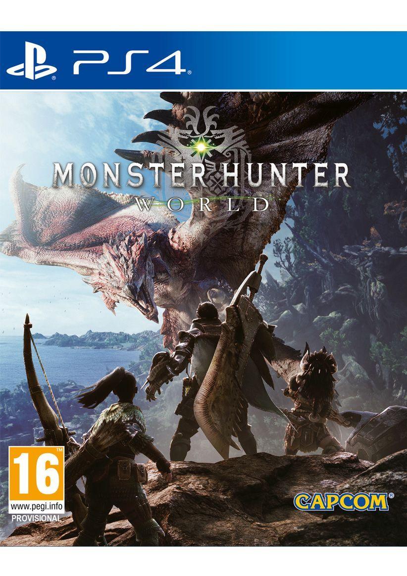 Monster Hunter: World (PS4) - £9.99 delivered @ Simply Games