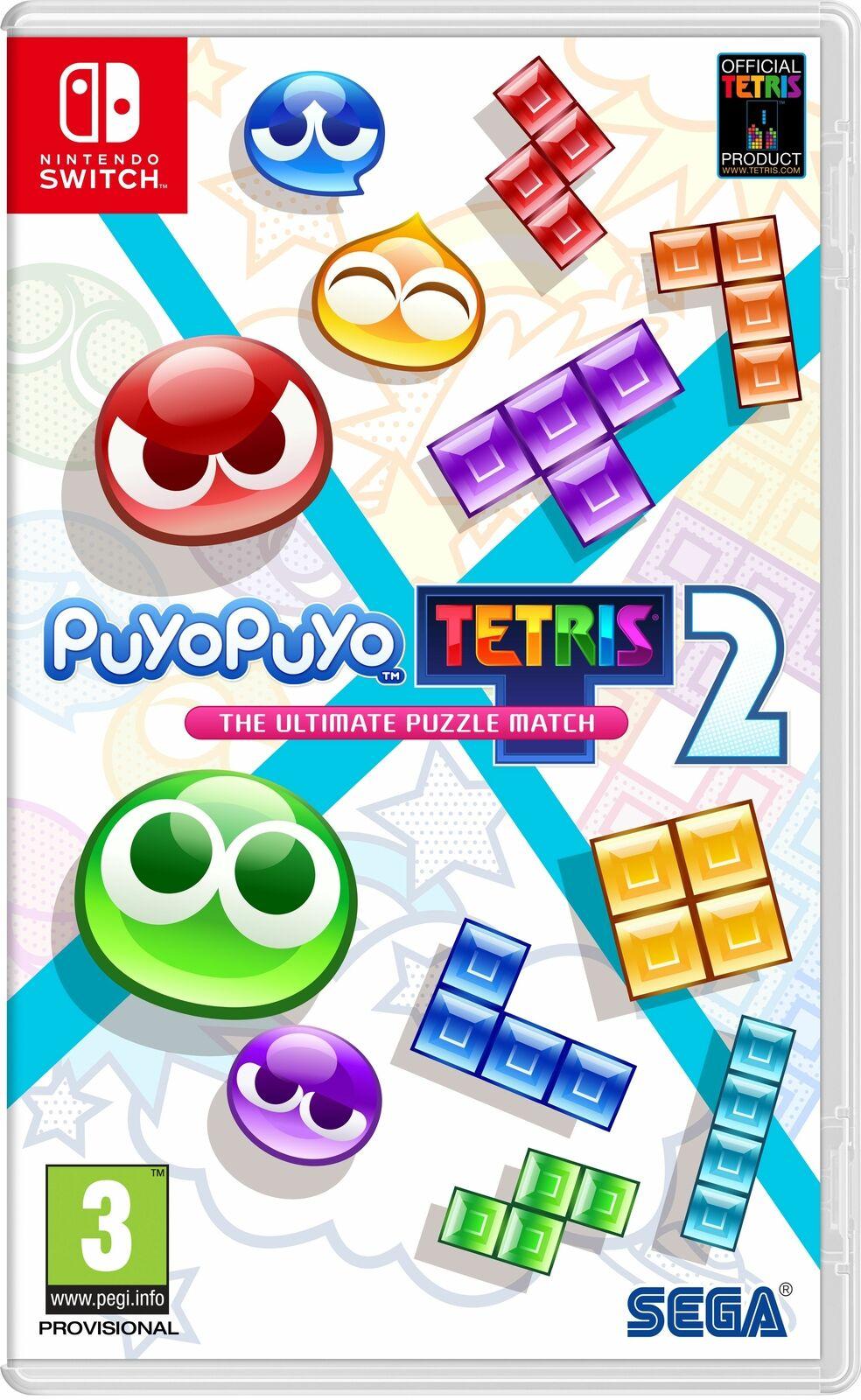 Puyo Puyo Tetris 2 (Nintendo Switch) - £17.99 delivered using code @ boss_deals / eBay