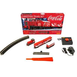 Coca Cola Hornby Train set Down to £49.99 @ Smyths Toys