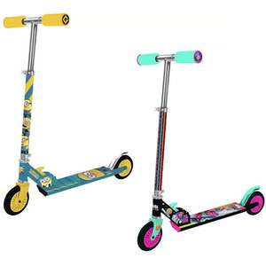 Folding Inline Scooters, including: Minions, Trolls, Disney Toy Story 4 etc now just £10 click & collect at Argos
