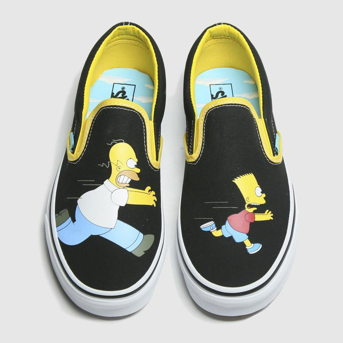 Simpsons x Van's slip on shoes £36.99 @ Schuh