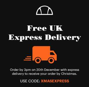 Free UK Express Delivery using voucher code @ ellesse