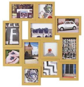 Argos Home 12 Aperture Photo Frame - Mustard £7.50 free click and collect at Argos
