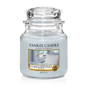 YANKEE 50% off Medium Jar! - £9.99 + £2.99 Delivery @ Clinton Cards