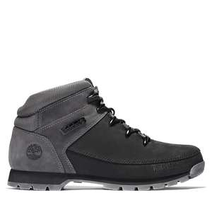 Timberland Euro Sprint Mid Hiker Boots For Men In Black/grey £70.20 @ Timberland Shop