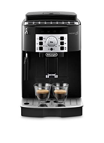 De'Longhi Magnifica S, Automatic Bean to Cup Coffee Machine, Espresso and Cappuccino Maker, ECAM22.110.B, Black - £215 @ Amazon