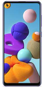 Samsung Galaxy A21s (Unlocked) - £119 (or £129 if you don't have active GiffGaff sim) via giffgaff Shop