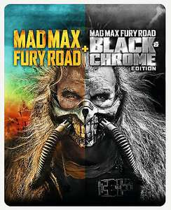 Mad Max: Fury Road Black and Chrome Edition (Blu-ray Steelbook) £14.99 @ The Entertainment store on ebay
