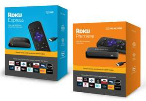 Roku Express HD - £17.99 // Premier HD 4K HDR - £27.99 (TV Streaming and Remote with Netflix and Disney+ App) Delivered @ Yoltso/eBay