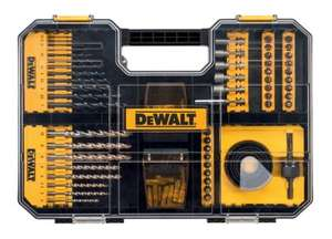 DeWalt 100 Piece Drill & Screwdriver Set DT71569-QZ £31.19 + £5 delivery / Free Delivery on orders of £50+ @ City Plumbing