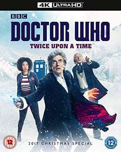 Doctor Who Christmas Special 2017 - Twice Upon A Time [4K UHD] - £9.99 (+£4.49 Non-Prime) @ Amazon