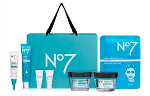 No7 Protect & Perfect Gift Set - £23 (with code) / Lift & Luminate & Restore & Renew £37 (with code) - Free Click and Collect @ Boots