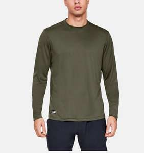 Under Armour Men's Tactical Crew Long Sleeve Base Layer - Green - Small £13.16 Prime (+£4.49 NP) @ Amazon