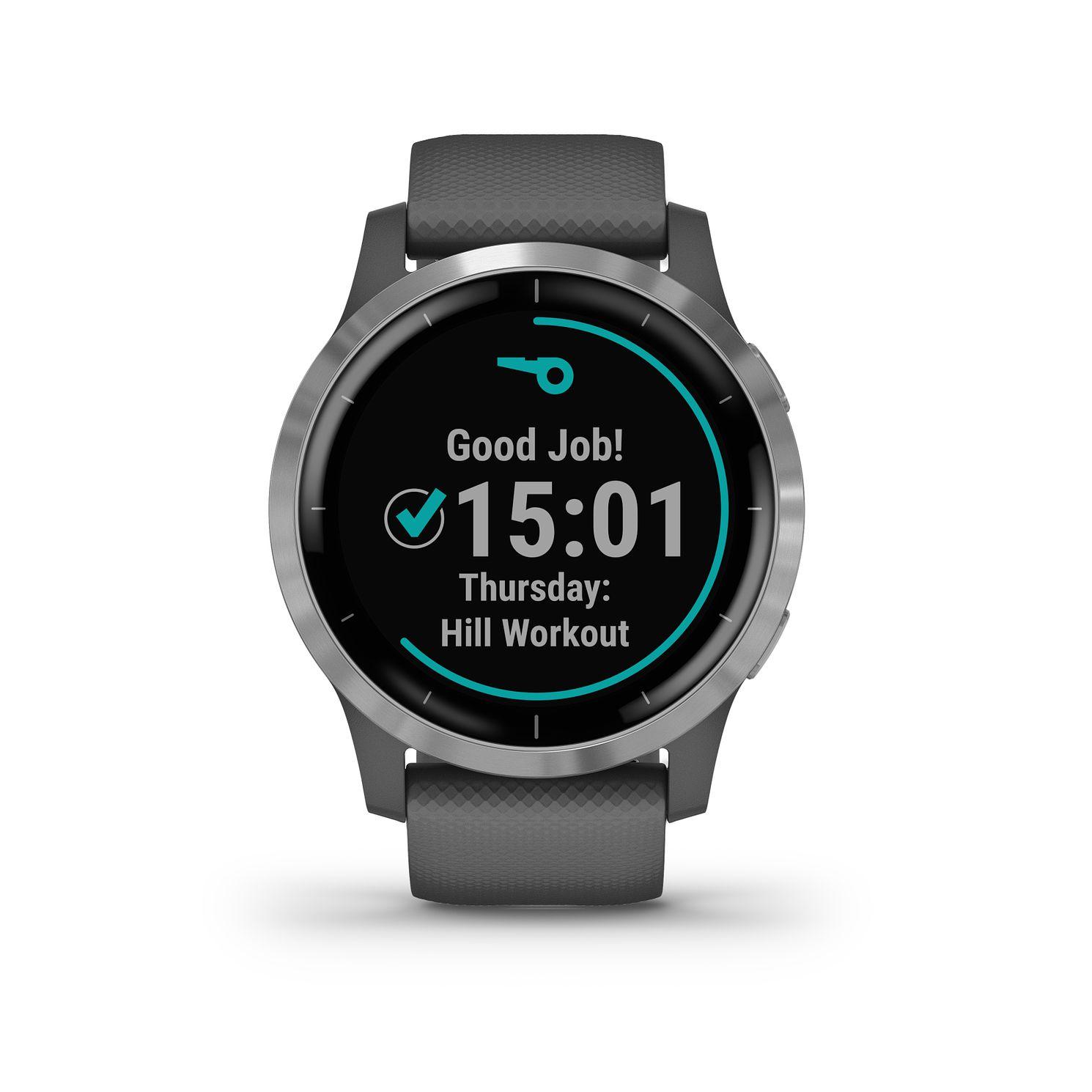 Garmin Vivoactive 4 Grey Smartwatch £196.99 @ H Samuel