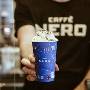 Free Caffe NeroHot/Cold Drink on O2 Priority