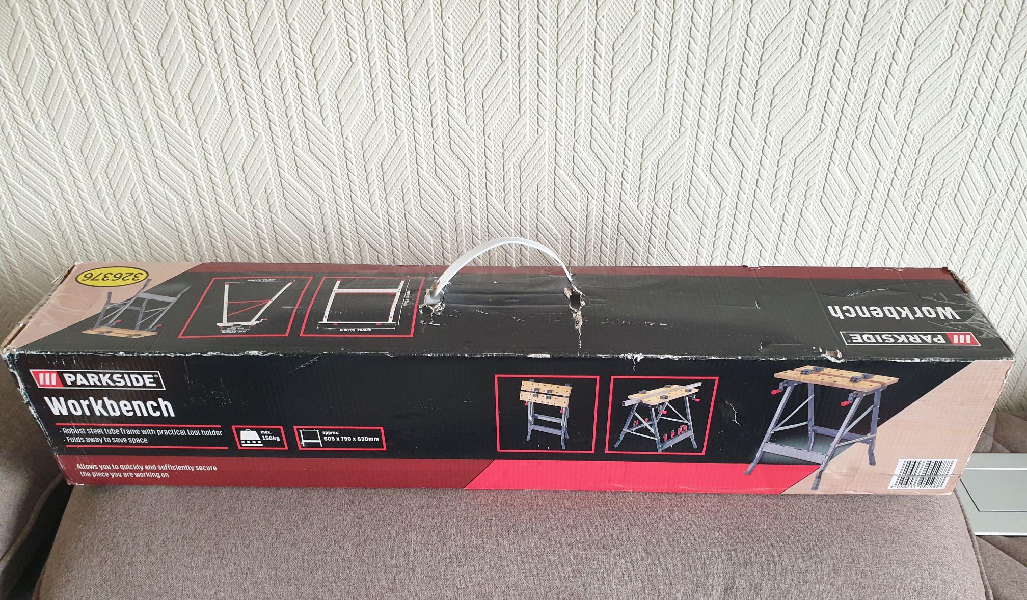 Parkside workbench £5 @ Lidl (Luton)