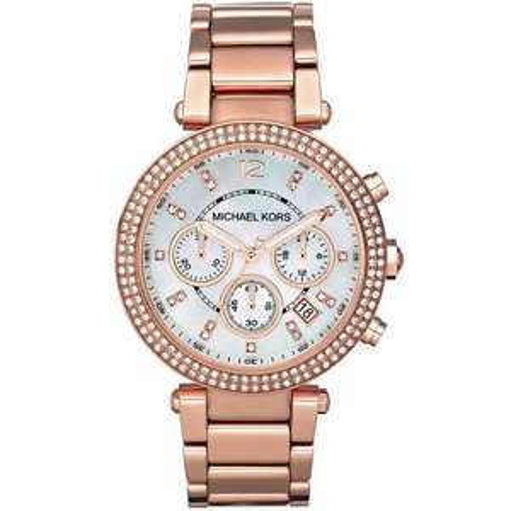 LADIES PARKER Rose Gold CHRONOGRAPH MICHAEL KORS Watch MK5491 £102.60 at Watch Pilot