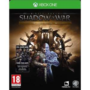 Middle-Earth Shadow of War- Gold Edition (Xbox One) £2.97 delivered @ Onbuy/Rarewaves